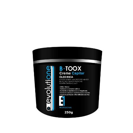 Btox Capilar Afro Tratamento Evolutione 250g