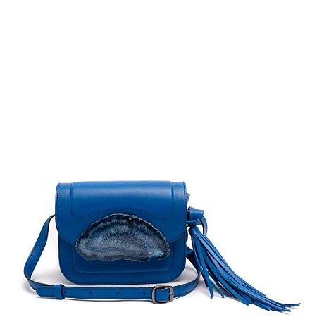 Bolsa Agata La Spezia (BU5679) Couro Azul