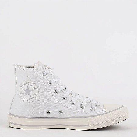 Tênis Converse Chuck Taylor All Star Hi Cano Alto Branco