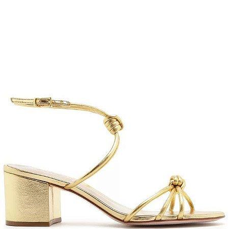 Sandália Schutz (AZ6529) Laminado Ouro