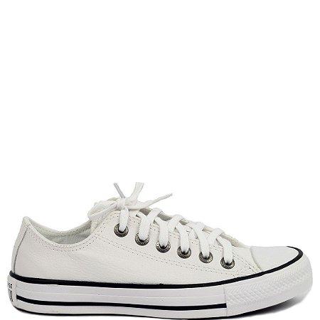 Tênis Converse All Star Couro (BE0505) Branco