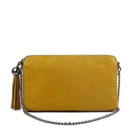 Bolsa Cláudia Mourão (BI8749) Amarela