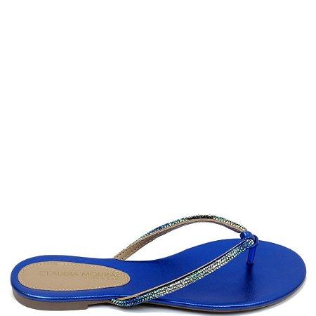 Rasteira Cláudia Mourão (BM6765) Azul