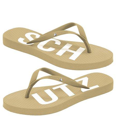 Chinelo Flip Flop (BM4429) Laminado Ouro