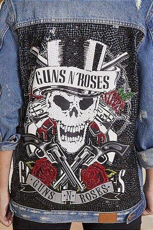 Jaqueta Bordada (BQ7209) Guns N' Roses