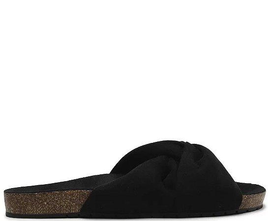 Slider Anacapri (BQ6207) Nobuck Preto