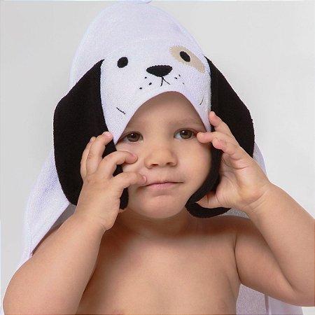 Toalha de Banho com Capuz - Cachorro