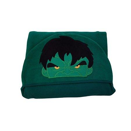 Toalha de Banho com Capuz - Hulk
