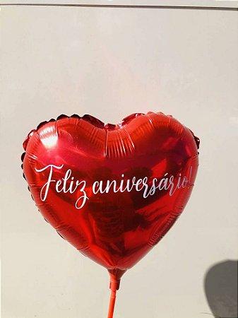 Balão Coração Personalizado