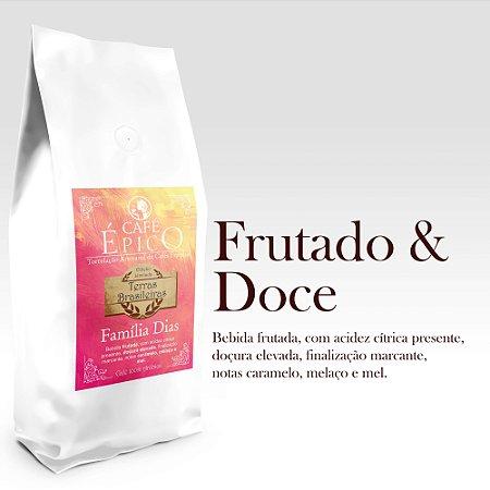 Café Épico  - Terras Brasileiras - Família Dias 250g