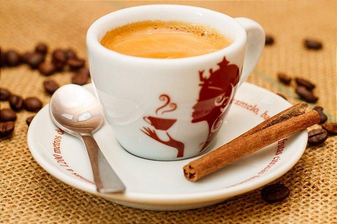 Conjunto de Xícara e Pires para cappuccino