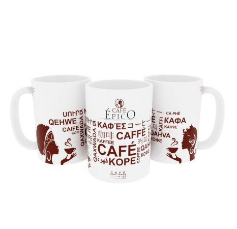 Caneca Cafés do Mundo 300ml