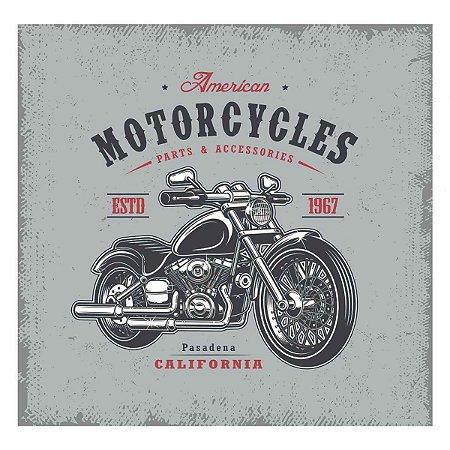 Placa Decorativa American Motorcycles