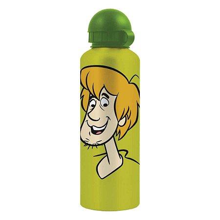Squeeze de Alumínio Hanna Barbera Salsicha (Scooby Doo) com Fundo Verde 500 ml