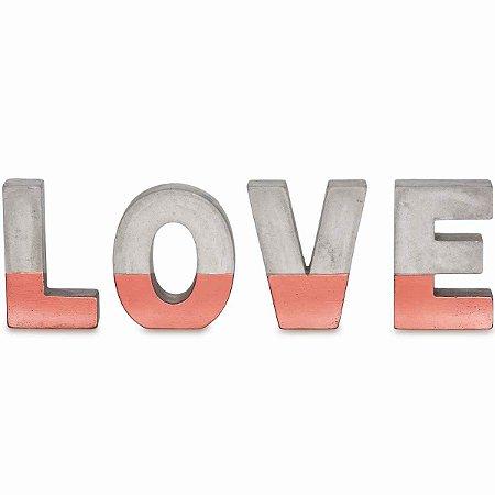 Love Cobre em Cimento