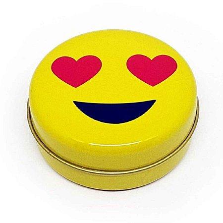 Latinha Emoticon Emoji Amor