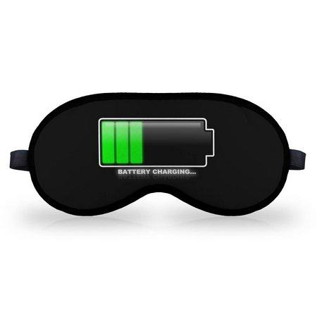 Máscara de Dormir em Neoprene Battery Charging (Recarregando as Baterias)