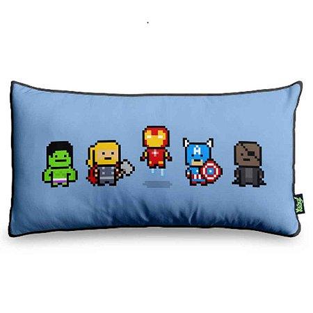 Almofada Avengers (Vingadores) Pixels
