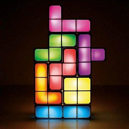Luminária Bloco LEDs Montáveis