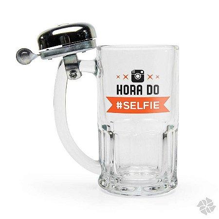Caneca Campainha 340 ml Hora Do Selfie