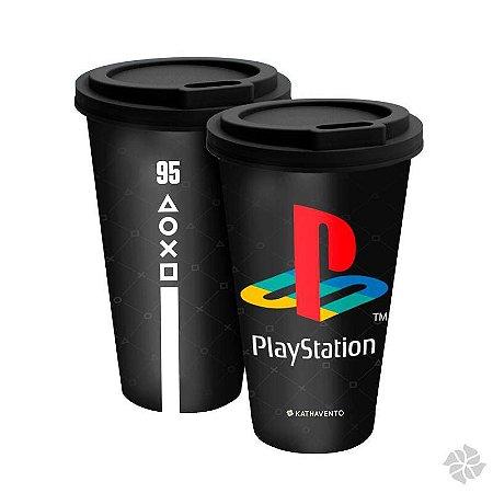 Copo Fun 550 ml Gamer Playstation
