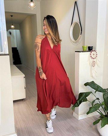 Vestido Antonella - Marsala