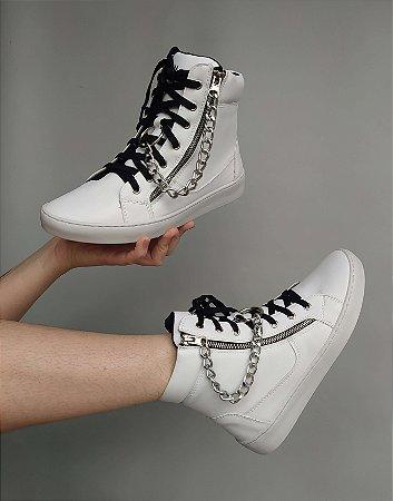 Sneaker Boot Branco
