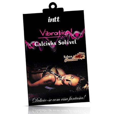 CALCINHA VIBRATION DE CHOCOLATE INTT