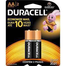 Pilha Duracell Alcalina AA 2X1