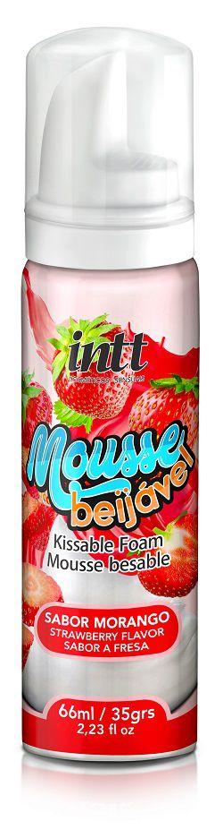 Mousse Beijável Morango