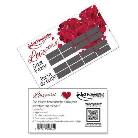 RASPADINHA ERÓTICA - LOVE CARD
