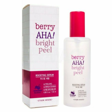 [ETUDE HOUSE] Berry AHA Bright Peel Boosting Serum - 135ml