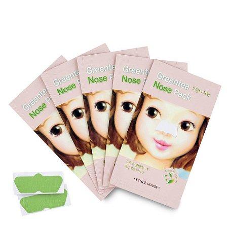 [ETUDE HOUSE] Green Tea Nose Pack (1unidade)
