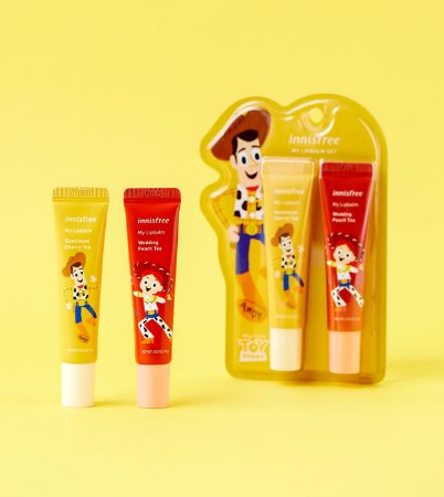 [INNISFREE] Toy Story My Lip Balm Set