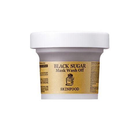 SKINFOOD - Black Sugar Wash Off Mask  - 100g