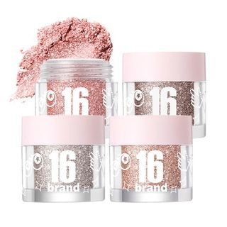 [16 BRAND] 16 Candy Rock Pearl Powder