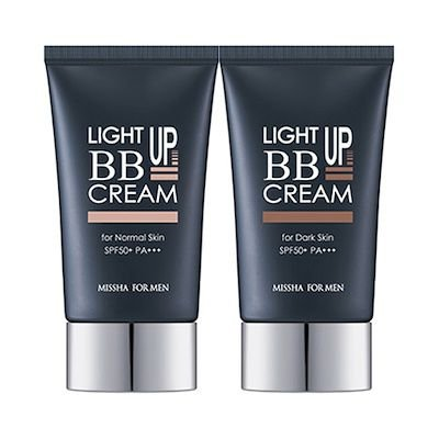 [MISSHA] For Men Light Up BB Cream - 45g (SPF50+ PA+++)