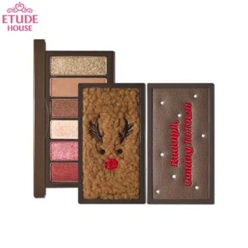 [ETUDE HOUSE] Rudolph Coming To Town Play Color Eyes Mini - 6g