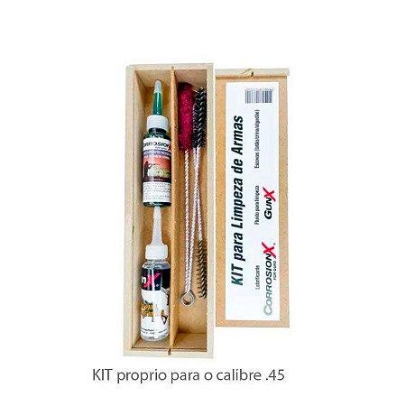 KIT PARA LIMPEZA CORROSION X .45 curta