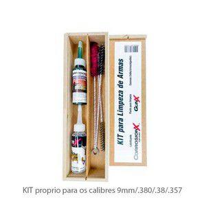 KIT PARA LIMPEZA CARROSION X 9mm/.38/380 curta