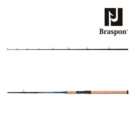 Vara de Pesca Braspon Impala Bait Casting 1,68m 8-17Lbs