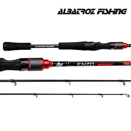 Vara de Pesca Albatroz Enzo Sport 6'3 10Lbs