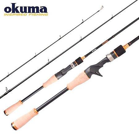 Vara de Pesca Okuma Citrix- C 661H FG 1,68mt 15-30Lbs
