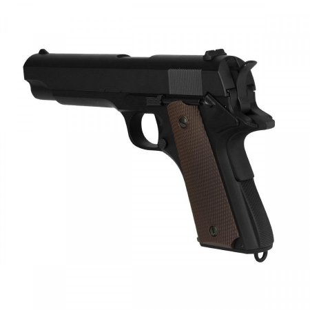 Airsoft GBB M1911 A1 Preta Full Metal Blowback