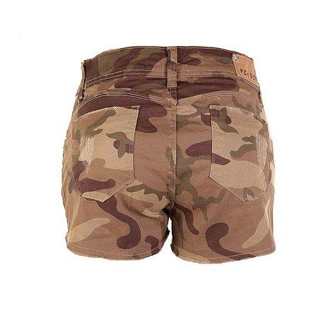 Bermuda Army Barra Virada Fox Boy -Desert Brown