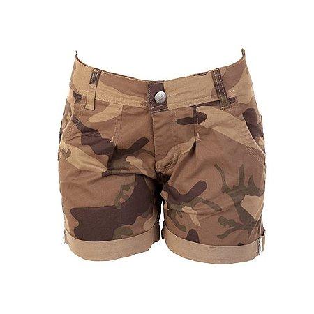 Bermuda Army Barra Virada Fox Boy- Desert Brown