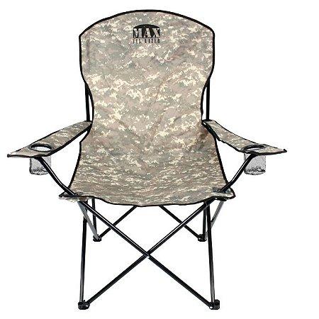 Cadeira Araguaia Comfort C/ Braço - Camuflado