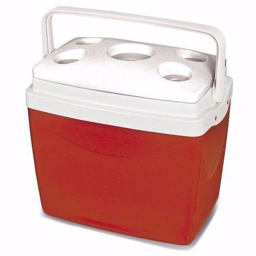 Caixa Térmica Obba 32L -Vermelha