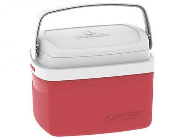 Caixa Térmica Soprano 5L -Vermelha