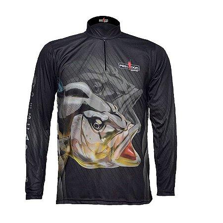 Camisa Com Proteção Pescador Modelo 03